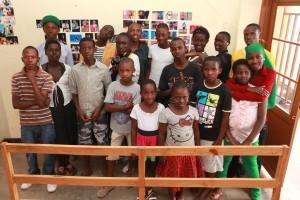 Photo:TEOH children in their art  center