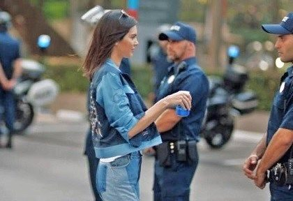 An analysis of the Pepsi ad featuring Kendall Jenner